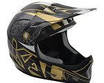 Kali Protectives KALI AVATAR HELMET (GALAXY-BLACK/GOLD) 2015
