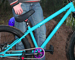 "Agent Bikes NEUER PREIS ! Agent Bikes Cooper 4130 CrMo Rahmen Street/Dirt 24"""