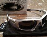 Oakley Scalpel white weiss NEUE schwarze Gläser