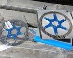 Formula 203/180mm Bremsscheiben Bicolor Blau