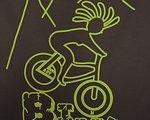 Biketrulla Damen Funktionsshirt mit Biketrullamotiv Lady on Bike