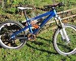 """Liteville 901 MK2 Größe """"M"""", Sonderfarbe blau/orange"""
