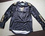 Jett langarm Jersey / Trikot MTB Downhill Enduro Freeride Enduro Bike Progressive, schwarz/gold in der Größe L