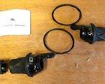 SRAM X0 Grip Shifter set 3x10 Carbon Black