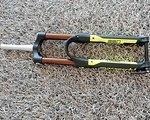 Marzocchi 350R, 350 R Federgabel in schwarz/neon gelb