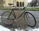 Fixie Inc. Singlespeed Black Jack silked black velvet (2012)