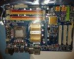 Gigabyte INTEL CORE 2 Quad 4x 2,4 Ghz Motherboard GA-P35-DS3