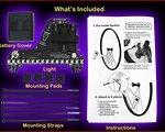 .. ORIGINAL MONKEY LIGHT M 232 von MONKEYLECTRIC Modell 2015 mit 32 LED und 42 Themen