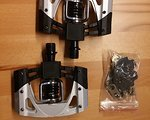 Crankbrothers Mallet 2 Silber inkl. Cleats