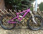 Liteville 601 MK 1 Gr S, purple eloxiert - UNIKAT