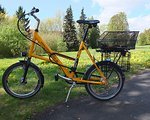 "Compact Bike Pendler Rad Alltagsrad Faltrad Gäste / Leihrad 20"" Compact Bike"