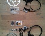 Avid SRAM X0 Trail Set VR/HR 180 schwarz + 2x Beläge