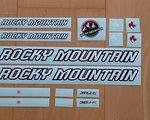 Rocky Mountain Decals Aufkleber