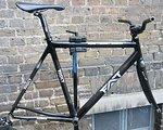 Fat Rennrad Carbon Rahmen 56 Zoll mit Gabel
