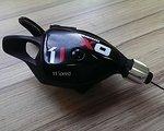 SRAM X01 Schalthebel 11 fach schwarz/rot
