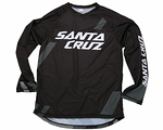 Santa Cruz Long Sleeve Trail Jersey 2015 Black/Grey