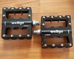 Wellgo KB002 Plattformpedale, sehr guter Zustand