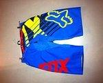 Fox Demo DH Shorts Savant Blau gr. 34