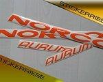 Stickerriese Norco Aurum Aufkleber Satz Sticker Decal Set