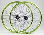 "Spank Subrosa 30AL EVO emerald green (2014) Laufradsatz mit Hope Pro II EVO Naben 26"""