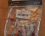 Truvativ Chainring Bolt Kit 4x3, Alum./SS red
