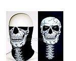 Scarf-Tubes Multifunktionstuch Skull Schlauchtuch Tube Gesichtsschutz Tuch Kopftuch Bandana