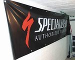 Specialized Riesigess Specialized Shop Banner LKW-Plane TOP!!! 80x300