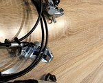 Avid SRAM X0 Trail Scheibenbremsenset (vorne und hinten) inkl Beläge und Lenkerklemmschellen