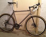 Lynskey ProCross Disc Titan, Wound Up Carbon, Chris King Rahmenset