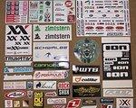 Cannondale Aufkleber verschiedenster Art/Hersteller