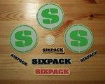 Sixpack ***GROßES Sixpack Sticker Set******