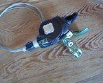 SRAM XO Carbon  Schalthebel grün, 9-fach rechts, guter Zustand