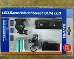 Büchel LED-Batterieleuchtenset SLIM LED