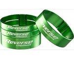 Reverse Components ultra-light Spacerset grün