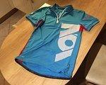 ION Bike Shirt SS Strait Trikot - Blue Danube Größe S