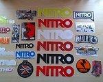 Nitro Raiden Eero Ettala Mega Stickerset 24St. NITRO RAIDEN Eero Ettala Markenaufkleber Snowboard NEU!!!!