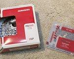 SRAM PG990 (X.O) Redwin Kassette + PC 951 Kette *NEU*