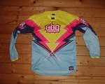 OBG - Original Battle Gear 2x OBG MTB Jersey Lightning Speed Paradise Grösse S
