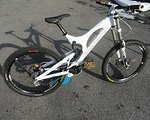 Santa Cruz V10 DH Bike Carbonwippe Carbon Fender Wippe V 10 Downhill