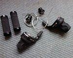SRAM X.0 Drehgriffe (3x9) und Zubehör ....