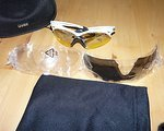 Uvex Crow Pro Sport Bike Brille Weiß-Schwarz