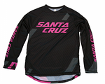 Santa Cruz Long Sleeve Trail Jersey 2015 Black/Magenta
