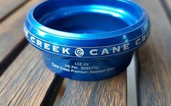 Canecreek 110 XX EC49 Steuersatz Oberteil blau Headset upper cup