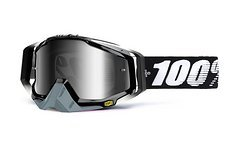 100% Racecraft Abyss Black Goggle *Topmodell*