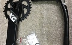 SRAM X01 Kurbel Black 1x12 BB30 | X-SYNC Direct Mount 32 Kettenblatt..