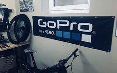 Gopro Werbebanner, Flagge, Transparent - NEU