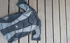 Troy Lee Designs Shock Doctor Brust-Rückenprotektor kurzarm Größe M