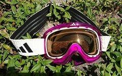 Adidas ID2 Lila mit Wechselscheibe (verspiegelt silber)