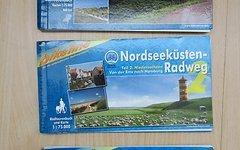 Bikeline Radtourenbuch Nordseeküsten-Radweg 1 + 2 + 3