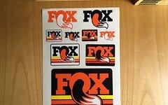 Fox Decal Sticker Set Aufkleber SET